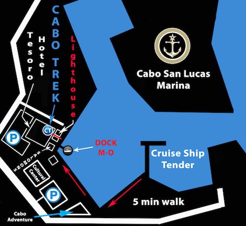 Cabo Trek new location