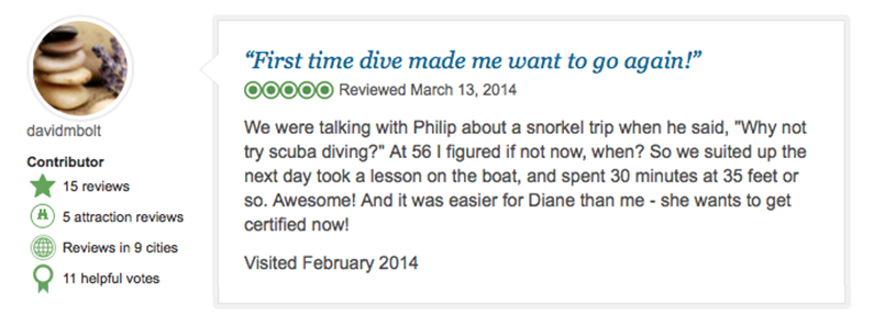 Tripadvisor Review - Best diving in Cabo