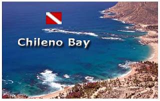 Chileno Bay dive map