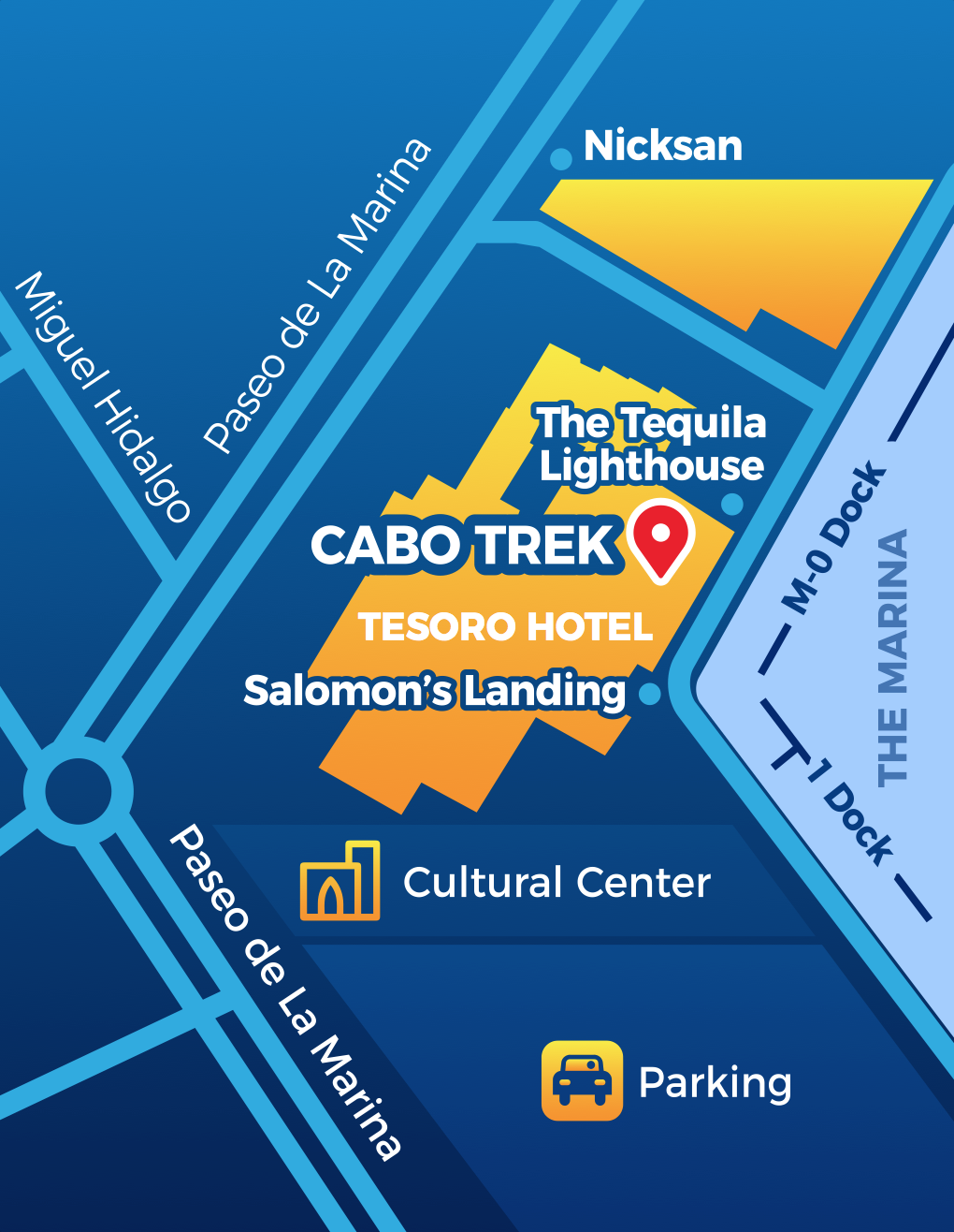 Cabo Trek new location
