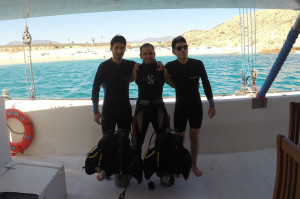 Discover Scuba Diving in Santa Maria Bay, Cabo San Lucas