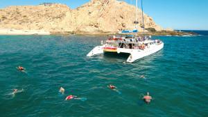 Snorkeling Santa Maria Bay, Cabo San Lucas